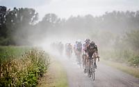 Quinten Hermans (BEL/Telenet Fidea Lions) leading the way<br /> <br /> Dwars door het Hageland 2019 (1.1)<br /> 1 day race from Aarschot to Diest (BEL/204km)<br /> <br /> ©kramon