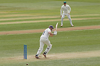 Nick Browne of Essex in batting action during Essex CCC vs Worcestershire CCC, LV Insurance County Championship Group 1 Cricket at The Cloudfm County Ground on 8th April 2021