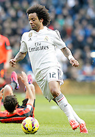 Real Madrid's Marcelo Vieira during La Liga match.January 31,2015. (ALTERPHOTOS/Acero) /NortePhoto<br /> /NortePhoto.com