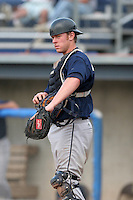 Mahoning Valley Scrappers Kelly Edmundson during a NY-Penn League game at Dwyer Stadium on July 30, 2006 in Batavia, New York.  (Mike Janes/Four Seam Images)