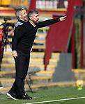 27.09.2020 Motherwell v Rangers:  Motherwell manager Stephen Robinson