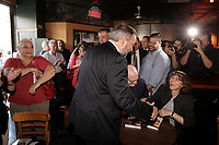 New Democrat Party leader Thomas Mulcair  campaign in Montreal during the federal elections, August 14, 2015