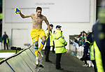 Hibs v St Johnstone…18.11.17…  Easter Road…  SPFL<br />Steven MacLean celebrates his goal<br />Picture by Graeme Hart. <br />Copyright Perthshire Picture Agency<br />Tel: 01738 623350  Mobile: 07990 594431