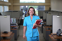 Portraits of employees at Valley Proteins located in Winchester, Va.  Photo/Andrew Shurtleff