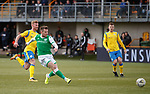 09.02.2020 BSC Glasgow v Hibs: Marc McNulty scores his third goal