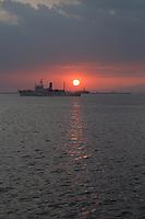 sunset in Manila Bay