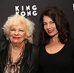 "Renee Taylor and Fran Drescher attends the Broadway Opening Night of ""King Kong - Alive On Broadway"" at the Broadway Theater on November 8, 2018 in New York City."