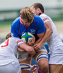 Georgia vs Namibia during the Day 4 of the IRB Junior World Rugby Trophy 2014 at the Hong Kong Football Club on April 19, 2014 in Hong Kong, China. Photo by Aitor Alcalde / Power Sport Images
