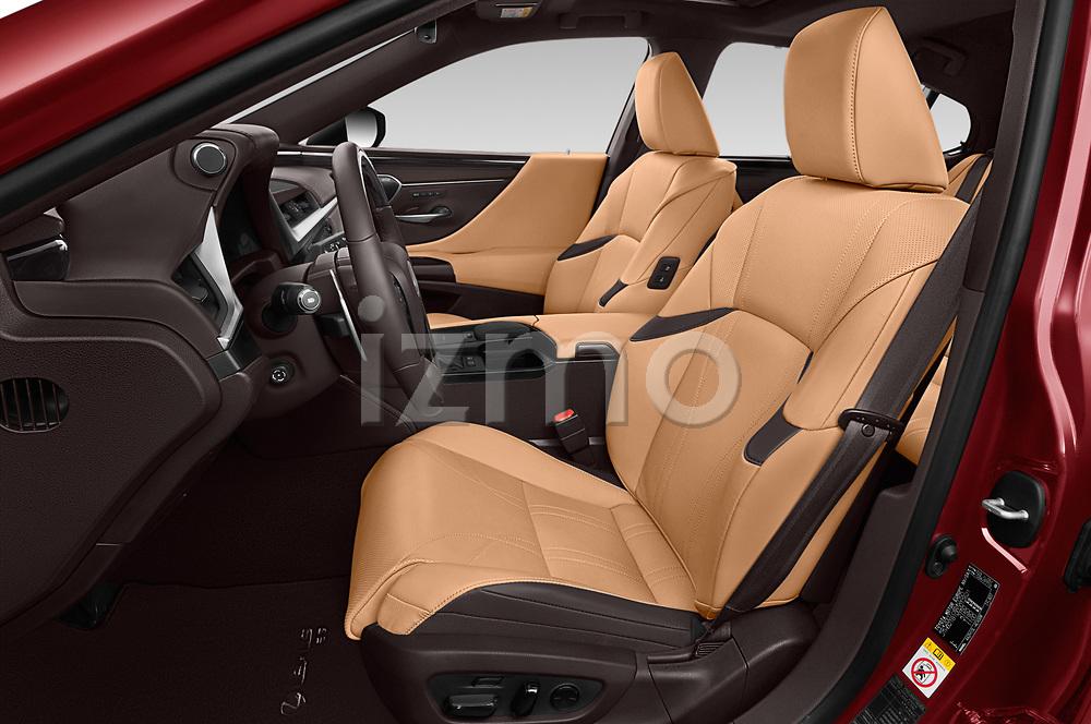 Front seat view of 2019 Lexus ES 300h-Privilege-Line 4 Door Sedan Front Seat  car photos