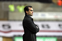 Pictured: Roberto Martínez Manager of Swansea City<br /> Re: Coca Cola Championship, Swansea City Football Club v Queens Park Rangers at the Liberty Stadium, Swansea, south Wales 21st October 2008.