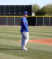 David Ross, manager - Chicago Cubs 2020 spring training (Bill Mitchell)