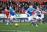 Aberdeen v St Johnstone…27.02.16   SPFL   Pittodrie, Aberdeen<br />Liam Craig scores from the penalty spot<br />Picture by Graeme Hart.<br />Copyright Perthshire Picture Agency<br />Tel: 01738 623350  Mobile: 07990 594431