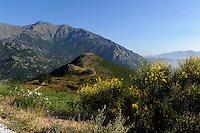 Fortine de Pasciola beim Pass Col de Vizzanova, Korsika, Frankreich