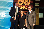 Andres Jimenez during the 80th Aniversary of the National Basketball Team at Melia Castilla Hotel, Spain, September 01, 2015. <br /> (ALTERPHOTOS/BorjaB.Hojas)