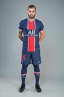 14th October 2020, Paris, France; Official League 1 player portrait for Paris Saint Germain;  JESE