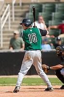 Augusta left fielder Tyler Graham (16) at bat versus Kannapolis at Fieldcrest Cannon Stadium in Kannapolis, NC, Monday, September 3, 2007.