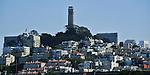 Telegraph Hill & Coit Tower, San Francisco. Bob & Lou's trip to California Nov. 2015. (Bob Gathany Photographer)