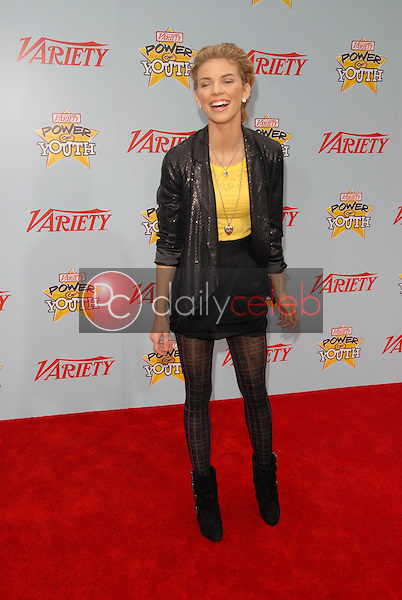 "AnnaLynne McCord<br /> at Variety's 3rd Annual ""Power of Youth,"" Paramount Studios, Hollywood, CA. 12-05-09<br /> David Edwards/DailyCeleb.com 818-249-4998"