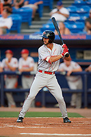 Florida Fire Frogs Brett Langhorne (23) during a Florida State League game against the St. Lucie Mets on April 12, 2019 at First Data Field in St. Lucie, Florida.  Florida defeated St. Lucie 10-7.  (Mike Janes/Four Seam Images)