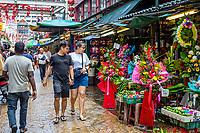 Jalan Hang Lekir Street, Chinatown, Kuala Lumpur, Malaysia.