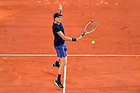 5th June 2021; Roland Garros, Paris France; French Open tennis championships day 9;  Jannik Sinner (Ita)