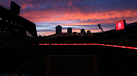 General view of a sunset at Brentford FC ahead of the Sky televised match during Brentford vs Bristol City, Sky Bet EFL Championship Football at the Brentford Community Stadium on 3rd February 2021