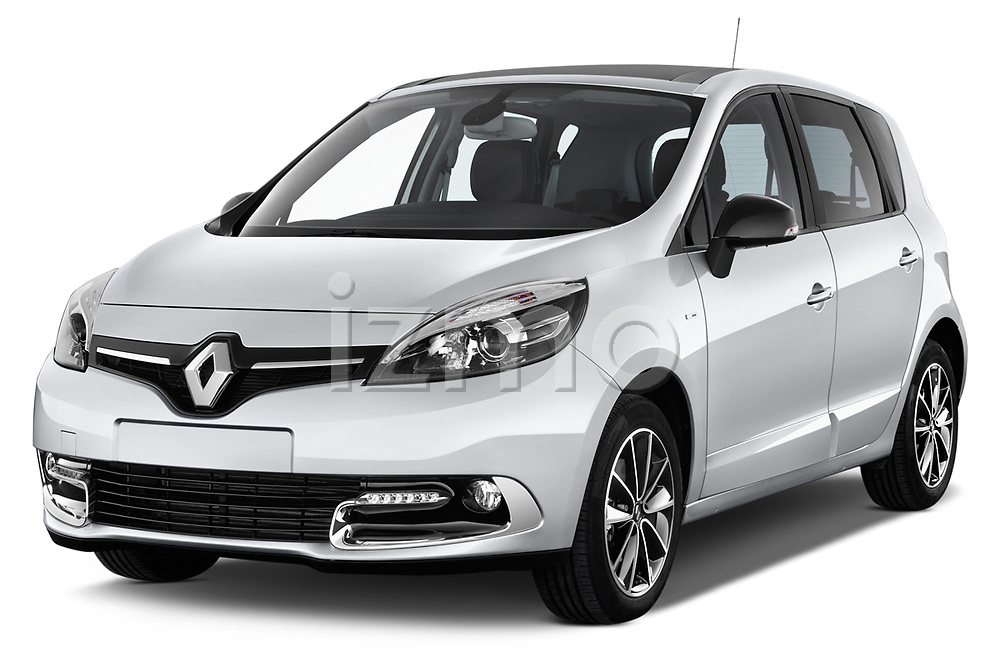 Front three quarter view of a 2013 Renault Scenic Bose Edition MPV