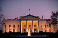 The White House, Washington, DC. Historical, presidents, Government, Tourism. Washington DC USA.