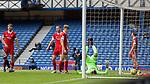 15.05.2021 Rangers v Aberdeen: Aberdeen dejected after goal no 2