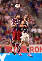 Harrison, NJ - July 31, 2014: FC Bayern defeated Chivas Guadalajara 1-0 during an international friendly at Red Bull Arena.
