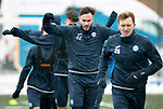 St Johnstone Training…19.01.18<br />Keith Watson pictured in training this morning at McDiarmid Park after his loan spell at Hartlepool United ended<br />Picture by Graeme Hart.<br />Copyright Perthshire Picture Agency<br />Tel: 01738 623350  Mobile: 07990 594431