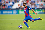 Jordi Alba of FC Barcelona in action during their La Liga match between Deportivo Leganes and FC Barcelona at the Butarque Municipal Stadium on 17 September 2016 in Madrid, Spain. Photo by Diego Gonzalez Souto / Power Sport Images