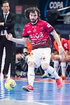 Rios R. Zaragoza Fernando Modrego during Semi-Finals Futsal Spanish Cup 2018 at Wizink Center in Madrid , Spain. March 17, 2018. (ALTERPHOTOS/Borja B.Hojas)
