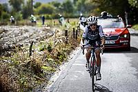 Elizabeth Deignan (GBR/Trek-Segafredo) solo's to victory<br /> <br /> 4th Liège-Bastogne-Liège-Femmes 2020 (1.WWT)<br /> 1 Day Race: Bastogne – Liège 135km<br /> <br /> ©kramon