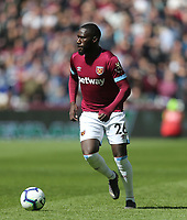 West Ham United's Arthur Masuaku<br /> <br /> Photographer Rob Newell/CameraSport<br /> <br /> The Premier League - West Ham United v Southampton - Saturday 4th May 2019 - London Stadium - London<br /> <br /> World Copyright © 2019 CameraSport. All rights reserved. 43 Linden Ave. Countesthorpe. Leicester. England. LE8 5PG - Tel: +44 (0) 116 277 4147 - admin@camerasport.com - www.camerasport.com