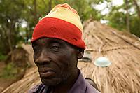 Refugee portait. makpando refugee camp, 44 km from yambio along the south sudan- congo border.
