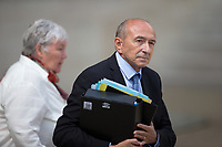 French Minister of Interior Gerard Collomb leaves the Elysee presidential palace following the weekly cabinet meeting on Wednesday, 28 June 2017 in Paris # CONSEIL DES MINISTRES DU 28/06/2017