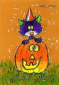 GIORDANO, CUTE ANIMALS, LUSTIGE TIERE, ANIMALITOS DIVERTIDOS, Halloween, paintings+++++,USGI2230,#AC#
