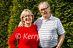 Rev Phyllis Jones who has retired from ministry pictured with her husband Keith at home in Tralee and are also celebrating their 60th wedding anniversary this summer