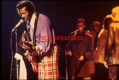 Chuck Berry 1973..© Chris Walter..