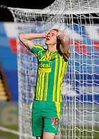 13th March 2021; Selhurst Park, London, England; English Premier League Football, Crystal Palace versus West Bromwich Albion;  Conor Gallagher of West Bromwich Albion hands on head in disappointment after failing to score his sides 1st goal during the 1st half