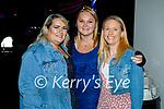 Enjoying the evening in Killarney on Saturday, l to r: Linda Casey, Jackie Harrington (Kenmare) and Heather Quirke (Killarney).