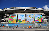 A general view of the Maracana Stadium showing today's fixture, Germany vs Argentina in the FIFA World Cup Final