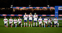 ORLANDO CITY, FL - FEBRUARY 18: USWNT starting eleven during a game between Canada and USWNT at Exploria Stadium on February 18, 2021 in Orlando City, Florida.
