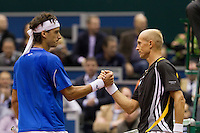 10-2-10, Rotterdam, Tennis, ABNAMROWTT, Nicolay Davidenko, Feliciano Lopez