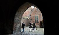 Nederland  Zutphen-  2020.   De Drogenapstoren, oorspronkelijk de Saltpoort (zoutpoort) genaamd, is gebouwd in 1444 als stadspoort. Hij heeft maar kort als stadspoort dienstgedaan. De poort werd in 1465 dichtgemetseld. Sindsdien draagt hij de naam Drogenapstoren, vernoemd naar Tonis Drogenap.  Foto : ANP/ HH / Berlinda van Dam