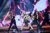 20/11/13 Little Mix at the Childline concert at the O2 in Dublin. Picture:Arthur Carron/Collins