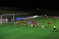 Jemma Purfield of Bristol City plays a ball into the box from a corner during Lewes Women vs Bristol City Women, FA Women's Continental League Cup Football at The Dripping Pan on 18th November 2020