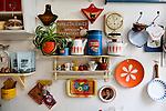 Shop und Cafe Retrolykke, 08/2014<br /> <br /> Engl.: Europe, Scandinavia, Norway, Oslo, Gruenerløkka, shop and cafe Retrolykke, gastronomy, interior view, August 2014