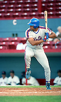 St Lucie Mets Frank Jacobs during the 1992 season at Chain of Lakes Park in Winter Haven, Florida.  (MJA/Four Seam Images)